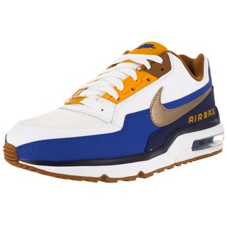 Nike Men's Air Max Ltd 3 Prem White/ Gld G/Lyl Running Shoe