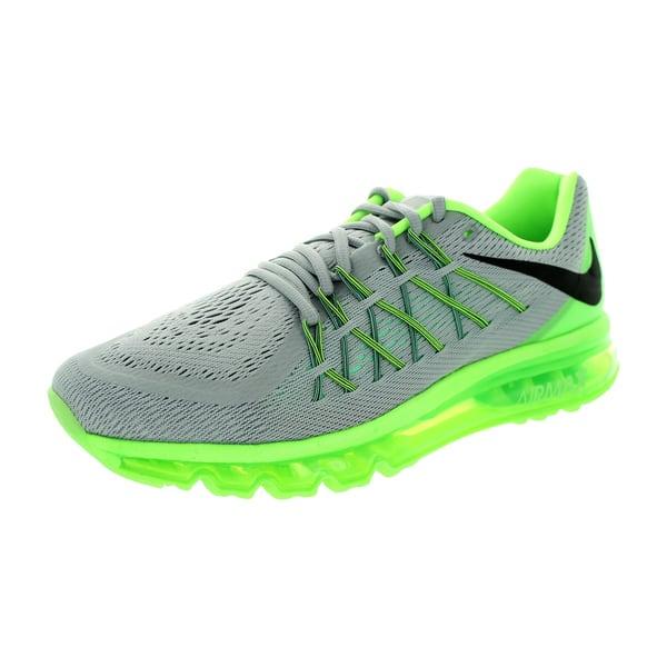 e3b6b860b6b6 Shop Nike Men's Air Max 2015 Wolf Grey/Black/G Glw/ Running Shoe ...