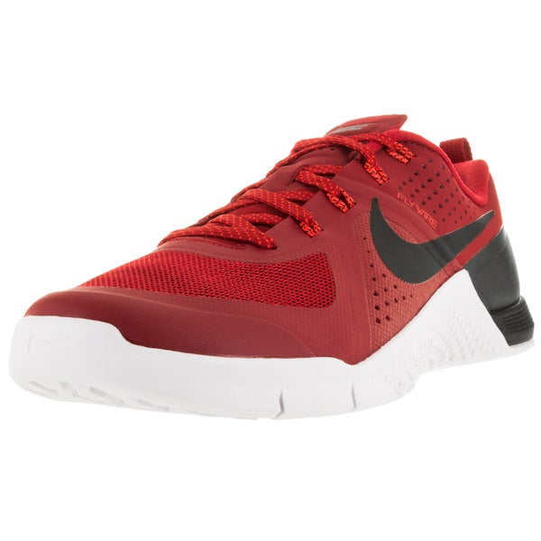 Shop Nike Men s Metcon 1 Gym Red Black Brgh White Training Shoe ... d4b0cfa2f