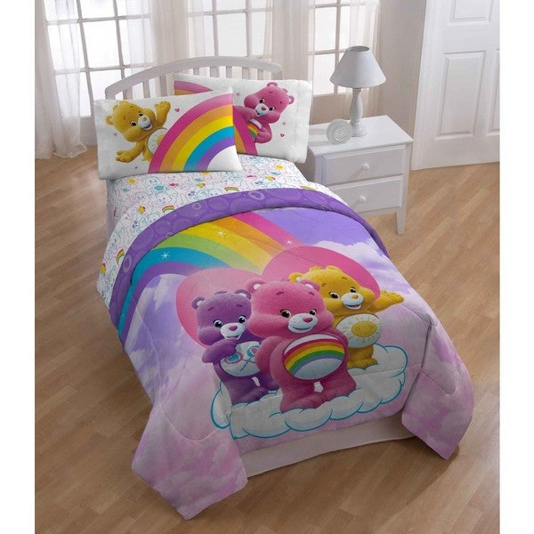 Shop Care Bear Twin 5 Piece Bed In A Bag With Sheet Set Free
