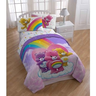 Care Bear Twin 5-piece Bed in a Bag with Sheet Set