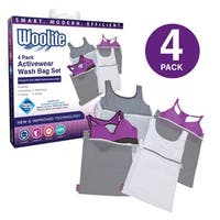 Woolite 4-piece Ultimate White Mesh Wash Bag Set
