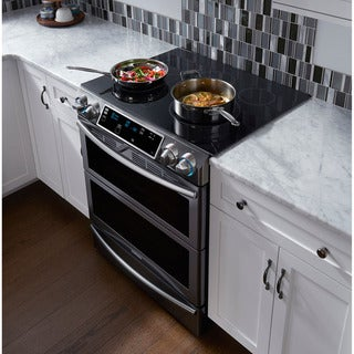 Samsung 30-inch Flex Duo Slide-In Stainless Steel Electric Range