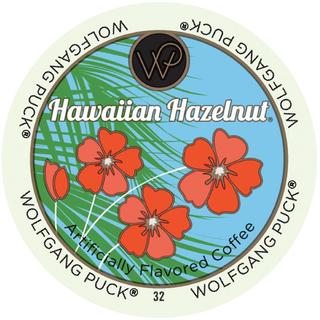 Wolfgang Puck Hawaiian Hazelnut RealCup Portion Pack For Keurig Brewers