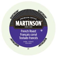 Martinson Coffee French Roast RealCup Portion Pack for Keurig Brewers