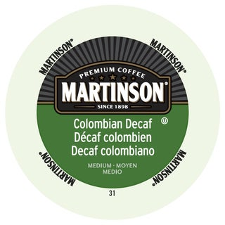 Martinson Coffee Colombian Decaf RealCup Portion Pack For Keurig Brewers