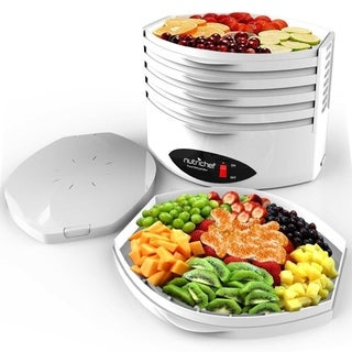 NutriChef White Plastic Food Dehydrator