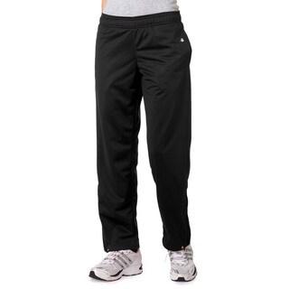 Brushed Women's Tricot Pants Black