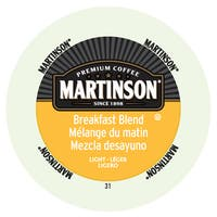 Martinson Coffee Breakfast Blend RealCup Portion Pack for Keurig Brewers