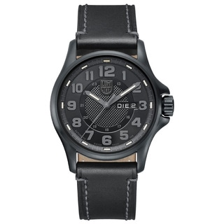 Luminox 1801-BO Men's 1800 Series Automatic Black Genuine Leather Black Dial