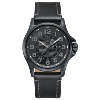 Luminox 1801-BO Men's 1800 Series Automatic Black Genuine Leather Black Dial