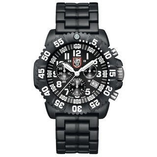 Luminox Men's 3082 Colormark Chronograph Analog Display Analog Quartz Black Watch