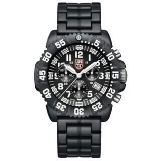 Luminox Men's 3082 Colormark Chronograph Analog Display Analog Quartz Black Watch
