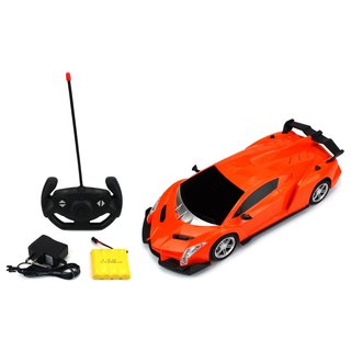 Velocity Toys Exotic Sport Racer Remote Control RC Car 1:16 Scale Size Ready To Run