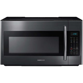 Samsung Black Stainless Steel 1.8-cubic-foot Over-the-Range Microwave