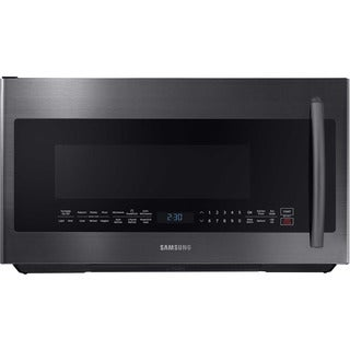 Samsung Black Stainless 2.1-cubic foot Over-the-Range Microwave