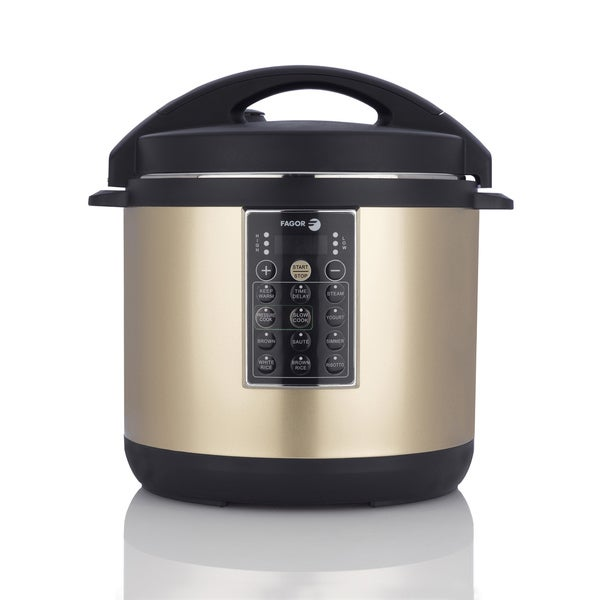 LUX 4-quart Champagne Color Multi Cooker