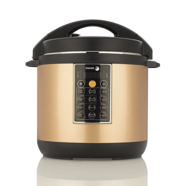 Shop Fagor 8 Quart Lux Copper-colored Mulit Cooker - Free