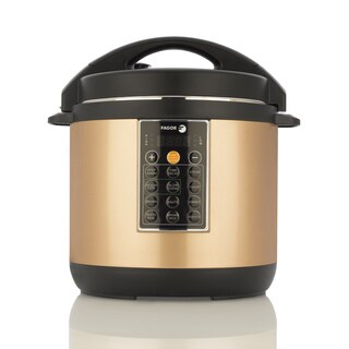 Fagor America Lux Copper-colored Ceramic 8-quart Mulitcooker