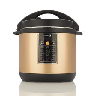 Fagor America Lux Copper Colored Ceramic 8 Quart Mulitcooker