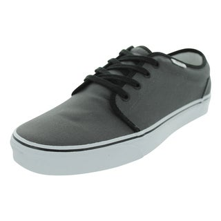 Vans 106 Vulcanized Skate Shoes (Pewter/Black)