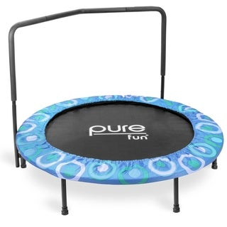 Pure Fun Super Jumper Kids Trampoline - Blue