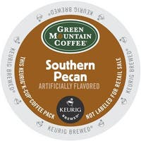 Green Mountain Southern Pecan Coffee, K-Cup Portion Pack for Keurig Brewers