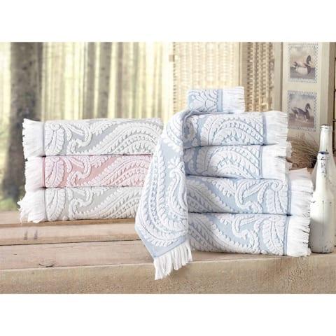 Laina Turkish Cotton Bath Towel (Set of 4)