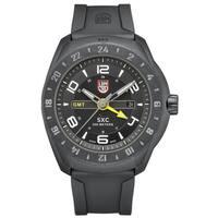 ecd7bd94a82 Luminox Men s SXC PC Carbon GMT Analog Display Analog Quartz Black Watch