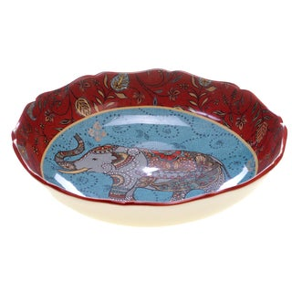 Certified International Spice Route Ceramic 12.5-inch Serving/Pasta Bowl
