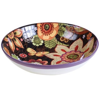 Certified International Coloratura Ceramic 13-inch Serving/Pasta Bowl