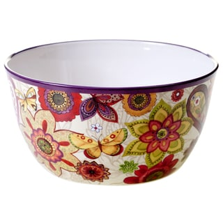 Certified International Coloratura Ceramic 10.75-inch Deep Serving Bowl