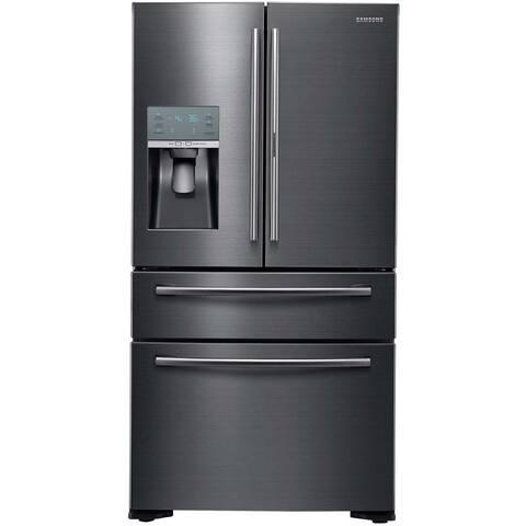 Samsung Black Stainless Steel 36-inch French Door Refrigerator