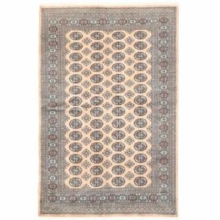Herat Oriental Pakistani Hand-knotted Bokhara Wool Rug (5'1 x 7'11)