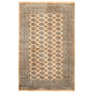 Herat Oriental Pakistani Hand-knotted Bokhara Wool Rug (5' x 7'10)