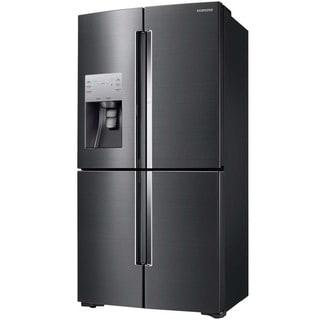 Samsung Black and Silver 36-inch Counter Depth 4-door Refrigerator
