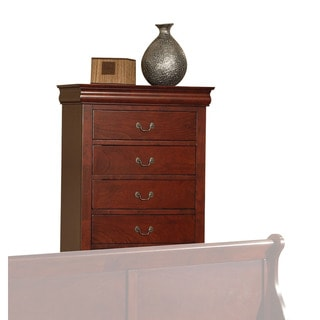 Louis Philippe III Cherry 5-drawer Chest