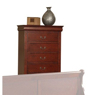 Louis Philippe III Cherry 5-drawer Chest