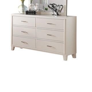 Tyler White 6-drawer Dresser