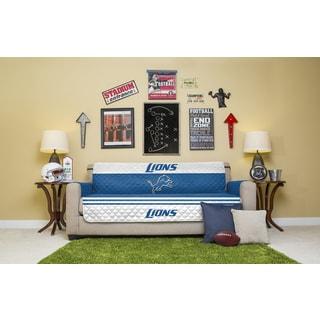 Licensed NFLDetroit Lions Polyester Sofa Protector