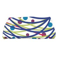 28 x 58-inch, Doodle Decorations, Geometric Print Bath Towel
