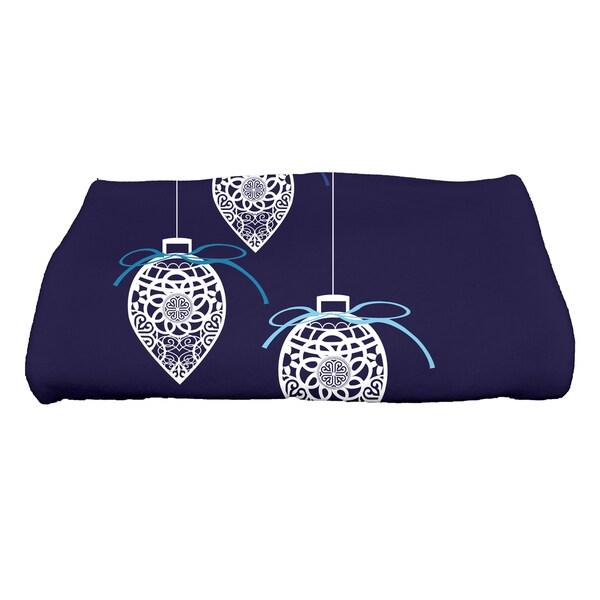 28 x 58-inch, Filagree Ornaments, Geometric Print Bath Towel