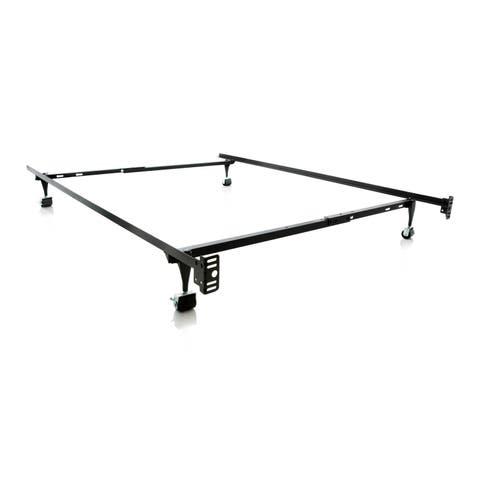Structures Twin/ Full LT Adjustable Metal Bed Frame