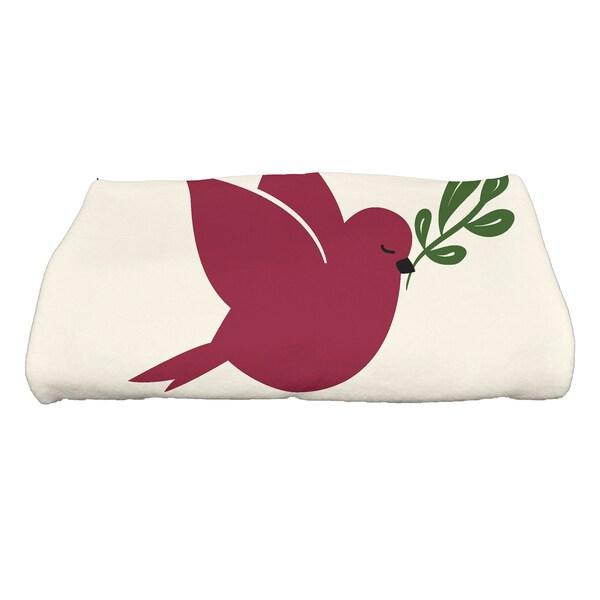 28 x 58-inch, Noel Bird, Animal Print Bath Towel