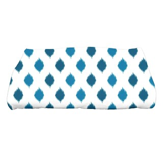 28 x 58-inch, Ikat Dot Stripes, Geometric Print Bath Towel
