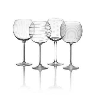 Link to Mikasa 'Cheers' 24.5 oz. Balloon Goblet (Set of 4) Similar Items in Glasses & Barware