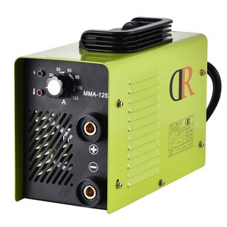 MMA-125A Stick Lightweight Metal Portable Welder Machine With Ground Clamp