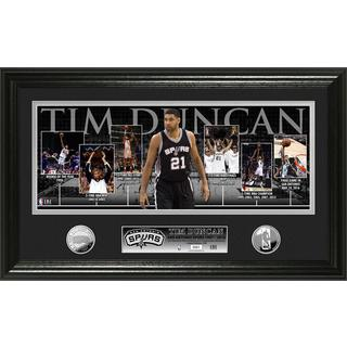 "Tim Duncan ""Retirement"" Silver Coin Photo Mint"