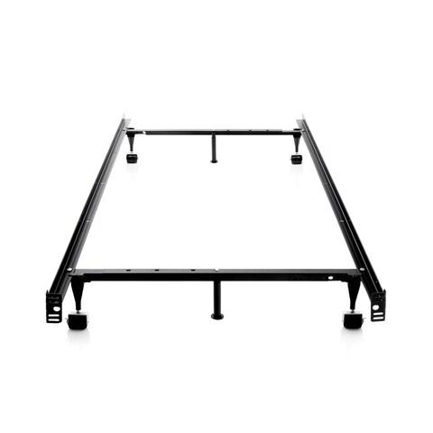 OSleep Brookside Adjustable Queen/ Full/ Twin Metal Bed Frame