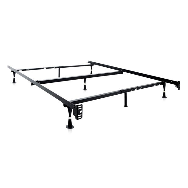 Adjustable Full Queen Bed Frame : Malouf structures adjustable queen full twin metal bed